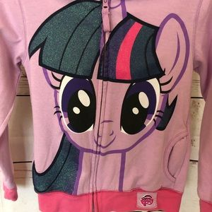 My Little Pony Hooded sweat shirt